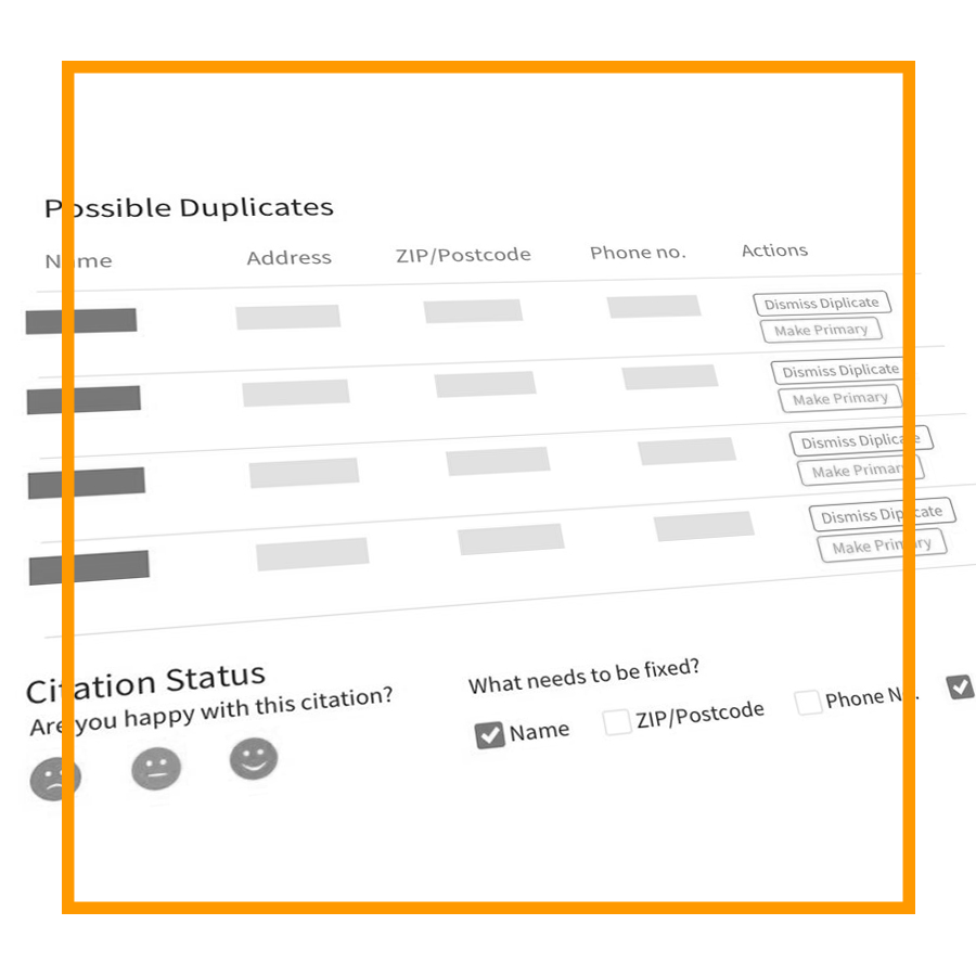 Locating & Eliminating Duplicate Listings